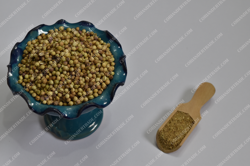 Famous coriander seed producing countries in Asia