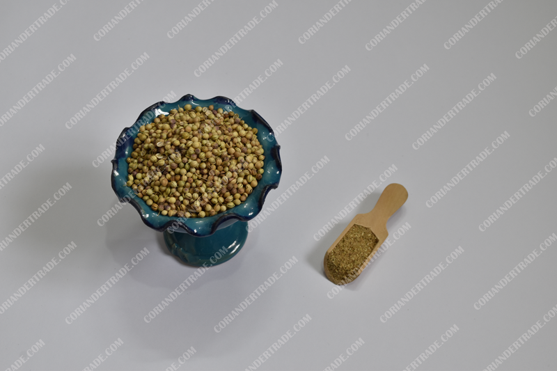 Coriander and cure for the causes of obesity